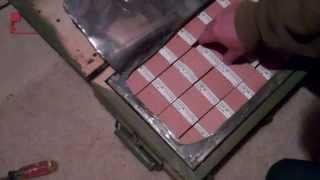 M67 Yugoslavian 762x39 Brass Cartridge  Opening A Crate