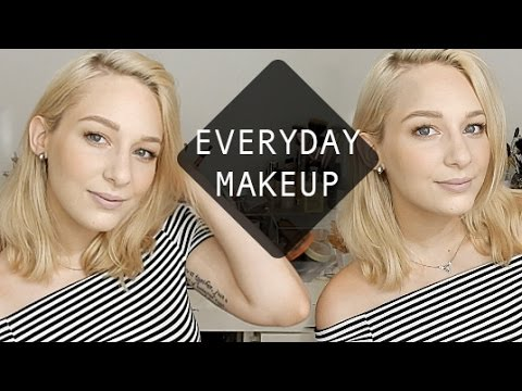 CURRENT EVERYDAY MAKEUP + CHIT CHAT