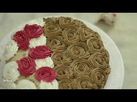 Black-Forest Cake Decoration & Full 360° Video