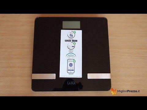 Bilancia pesapersone Laica PS7002L Video Recensione