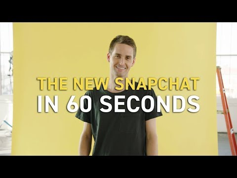 Snapchat su Android: la nuova interfaccia in 60 secondi