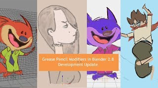 Modifiers in Grease Pencil 2.8