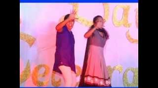1st year Girls Performance in College Day Function