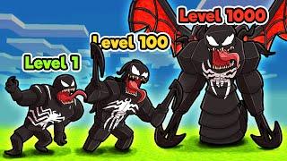 Venom TRANSFORMS into GOD LEVEL Symbiote! (Minecraft)