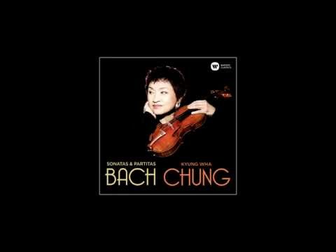 Kyung Wha Chung records Bach's Chaconne