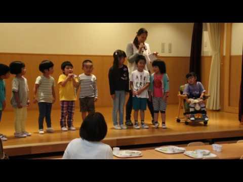 平成29年度 みなみ保育園 誕生日会食会(6月)