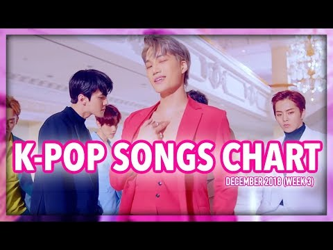 K-POP SONGS CHART | DECEMBER 2018 (WEEK 3)