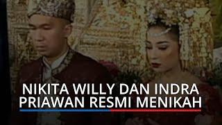 Nikita Willy Resmi Dinikahi Indra Priawan dengan Mas Kawin 75 gram Emas Bertahtakan Berlian