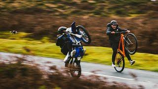 When Bike Life Meets FPV Drone