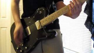 Bring Me To Life   Thousand Foot Krutch   Guitar Cover