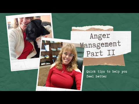 Anger Management Tools Part 2 - YouTube