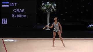 Gambar cover FIG Junior.Oras Sabiine.clubs.EST 'Miss Valentine 2018'