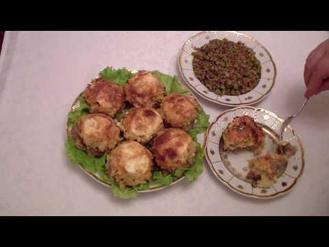 Как приготовить котлеты  из мяса  под сырной шубкой для праздника ?