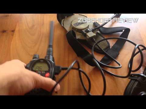 Z-Tac Headset & PTT Einheit HD