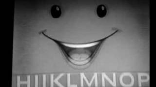 Nick Jr. Face Sings The Alphabet Song (in Black & White)