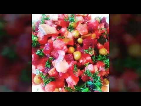 Обалденный , вкусный салат с селёдкой. Просто , красиво, быстро, празднично. Салаты на каждый день!