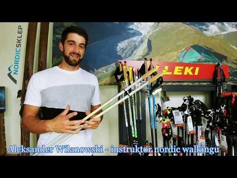 Kije nordic walking Leki Flash Carbon - prezentuje Aleksander Wilanowski z NordicSklep.pl