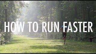 HOW TO RUN FASTER || 5k, 10k, Half Marathon