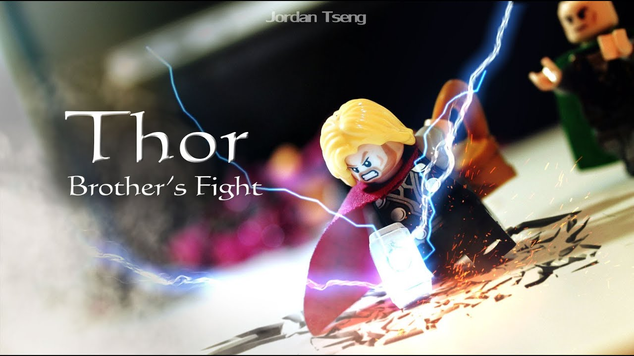 Thor And Loki's Stop-Motion LEGO Rumble Gets Much More Than An A+