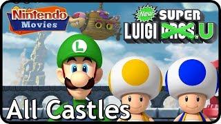 New Super Luigi U - All Castles (3 Players)