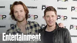 Entertainment Weekly's PopFest | Supernatural : Jensen Ackles & Jared Padalecki Get Sentimental (29.10.16)