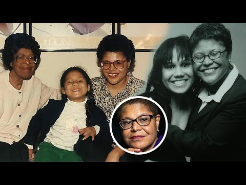 Karen Bass Family Video With Ex-Husband Jesus Lechuga
