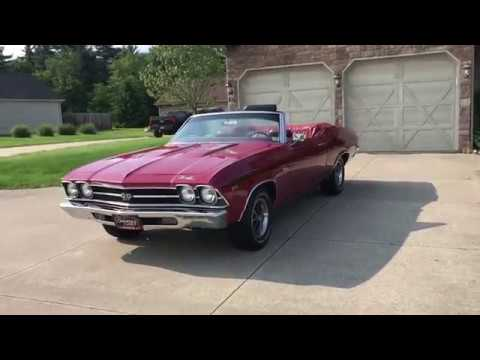 Video of Classic 1969 Chevrolet Chevelle SS located in Ohio Offered by Sabettas Classics, LLC - QEX0