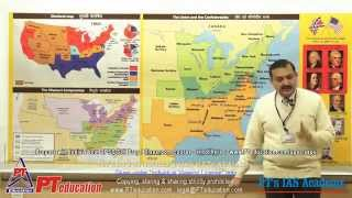 American Civil War (Full 5.5 hrs) - PT's IAS Academy - Sample Lecture - by Sandeep Manudhane sir