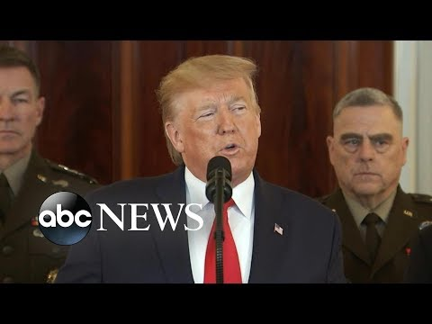 Trump addresses the nation following Iran's missile strikes on US forces in Iraq | ABC News