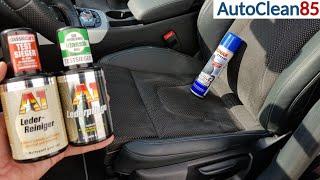 Alcantara- und Ledersitze REINIGEN und VERSIEGELN / Leder aufbereiten im Auto