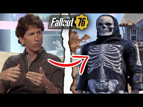Bethesda Plans to Release Battle Royale Mode in Fallout 76