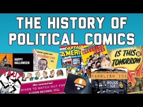 The History of Political Comics, #AbolishICE, and an Interview with J Andrew World