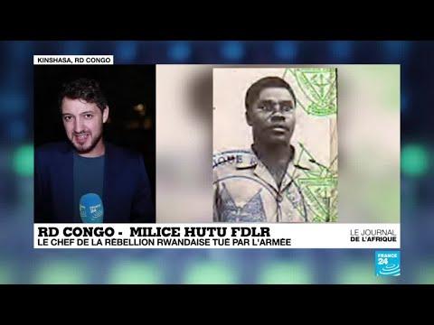 RD Congo: le chef de la rébellion rwandaise FDLR tué par l'armée