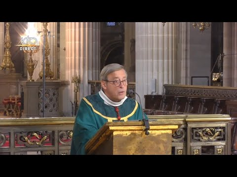 Messe à Saint-Germain-l'Auxerrois du 12 octobre 2021