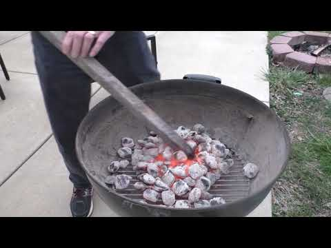 Weber Charcoal Grill Set Up and Review