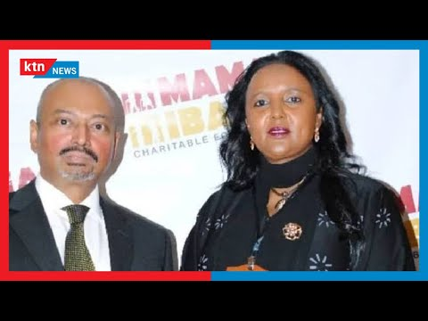 Waziri Amina Mohamed apoteza mumewe Ahmed Khalid katika hospitali ya Karen | MBIU YA KTN