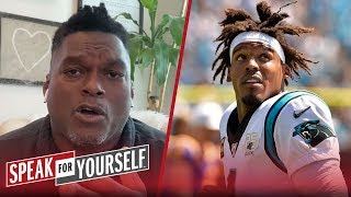 LaVar Arrington urges Cam to not wait until draft to sign with team | NFL | SPEAK FOR YOURSELF