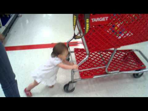 Zoey Shopping at Target