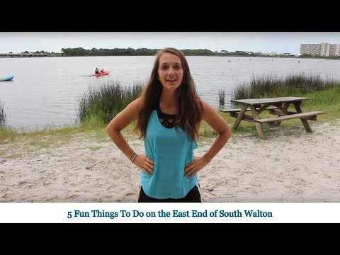 Five Fun Things To Do on the East End 30A