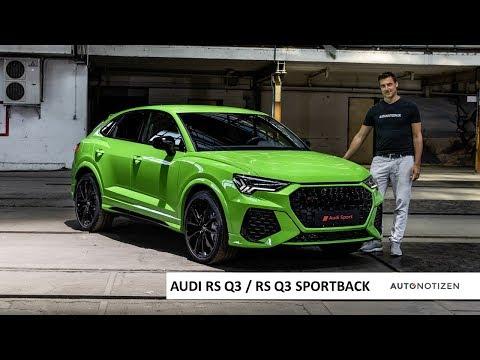 Audi RS Q3 und RS Q3 Sportback: Sitzprobe zur Weltpremiere