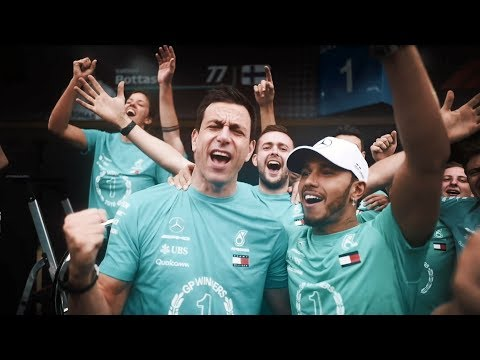 Image: WATCH: Mercedes celebrate their double title in Brazil!