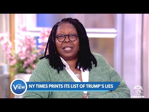 NY Times Prints Long List Of TRUMP's Lies - The View