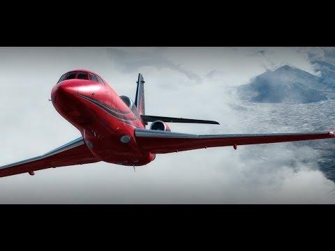 Carenado Falcon 50EX Review P3Dv4 - David Womacks - Video - Index Music