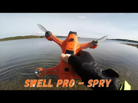 Filming with the new Swellpro Spry