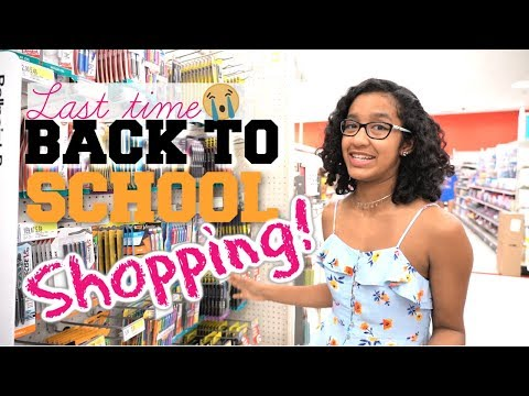 e80333db217 Back to School Shopping 2017 AlishaMarieVlogs - Naijafy