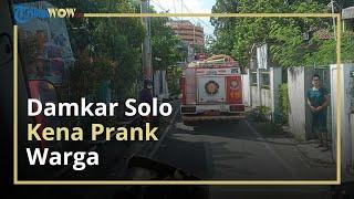 Kena Prank di Hari Kedua Lebaran, Damkar Solo Lapor Polisi