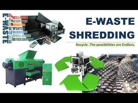 E-Waste Shredder Machine