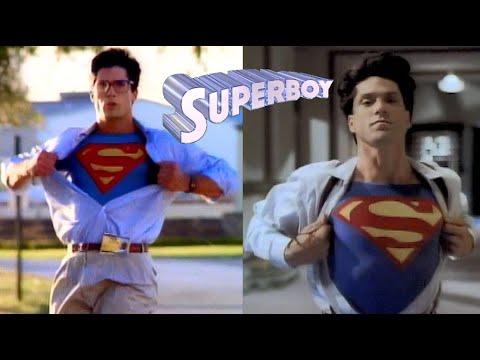 Superboy - CLARK changes into SUPERBOY