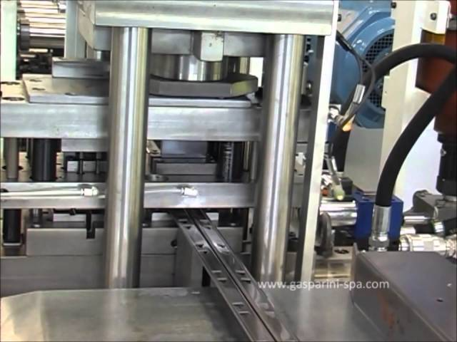 Линии для балки среднегрузовых и малогрузовых полочных стеллажей