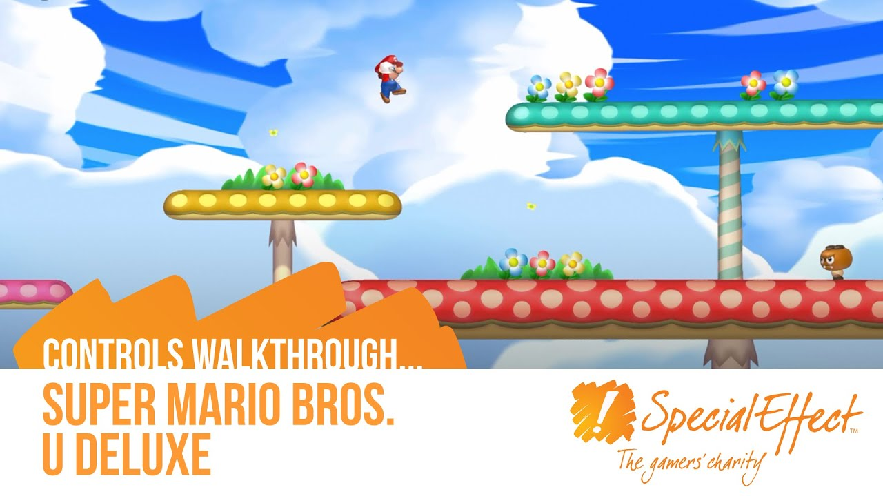 video placeholder for New Super Mario Bros. U Deluxe | Controls Walkthrough